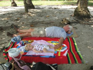 Siesta en La Playa!!